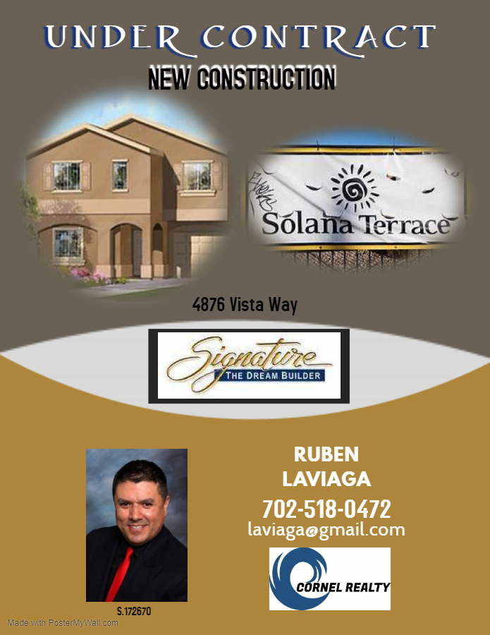 New Construction Under Contract